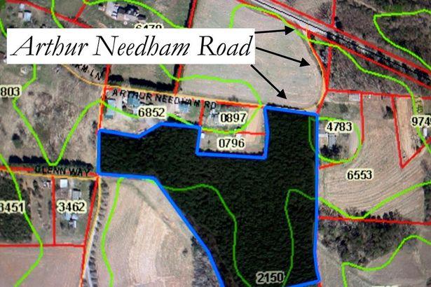 9.73 Ac Arthur Needham Road