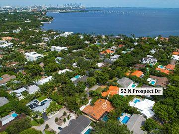 52 N Prospect Dr, Coral Gables, FL, 33133,