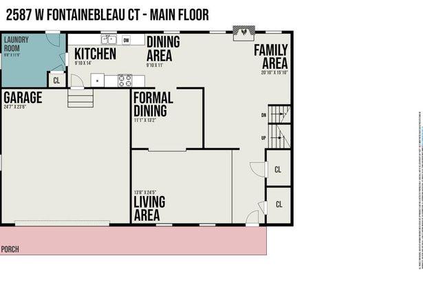 2587 W Fontainebleau Court