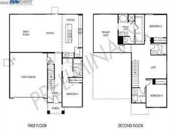 Floor Plan, 747 Silver Creek Circle, Plumas Lake, CA, 95961,
