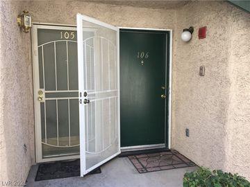 440 Elm Drive #106, Las Vegas, NV, 89169,